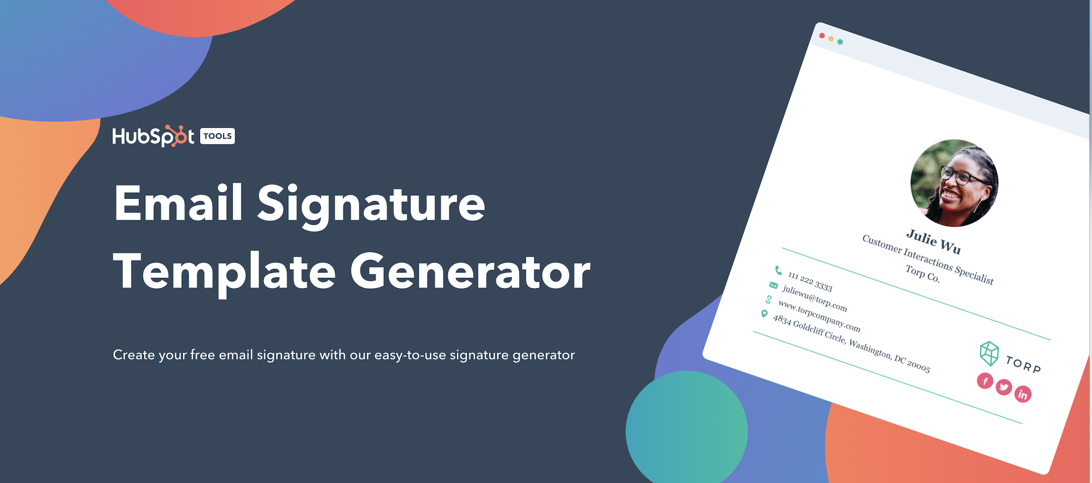 Hubspot Email Template Generator