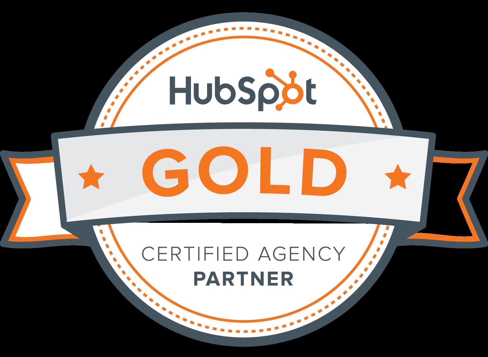 Gold Hubspot Partner