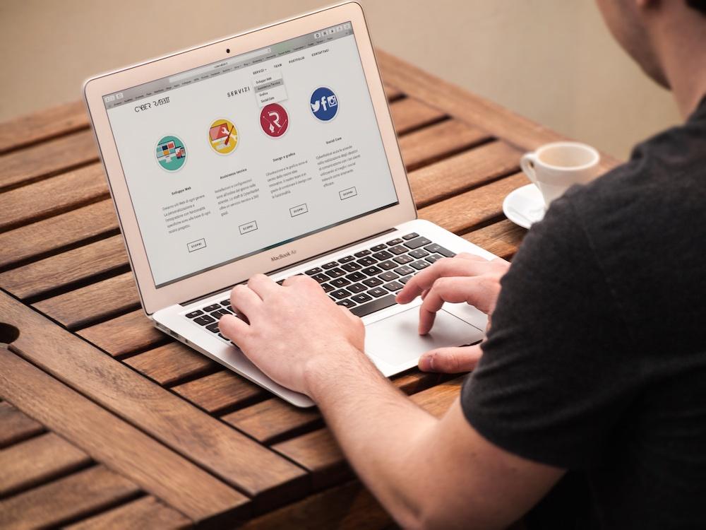 User focused website