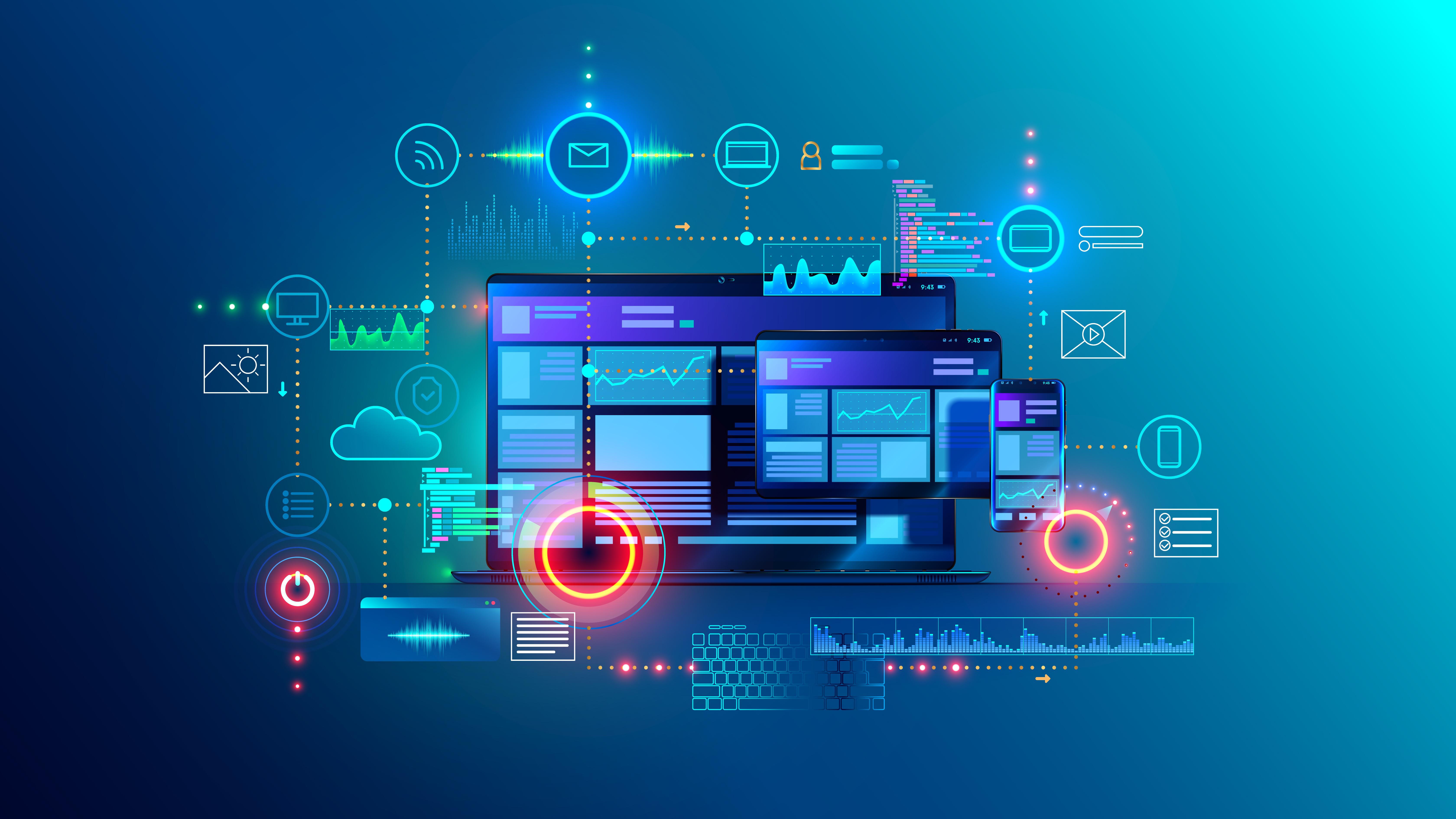 Digital Services Illustration