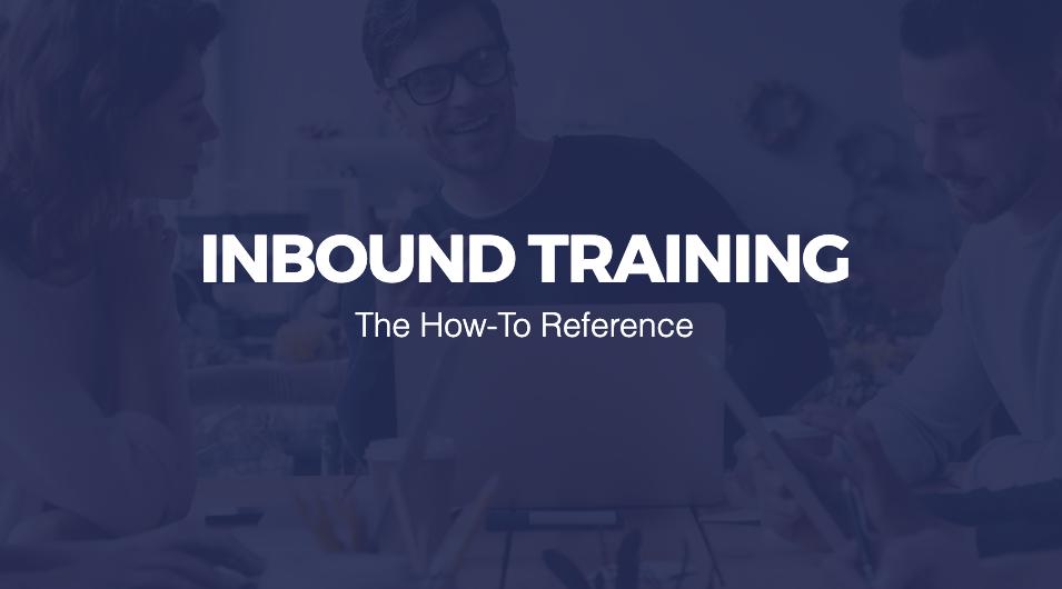 Inbound Training Guide